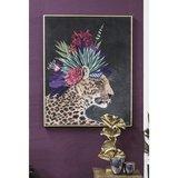 Canvas schilderij luipaard_
