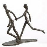 Sculptuur rennen_