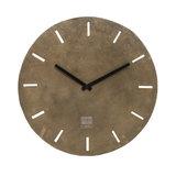 PTMD Lexis Antique brass aluminium clock round s_