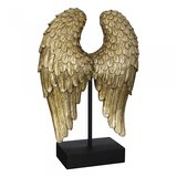 sculptuur  vleugel goud_