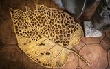 PTMD Yana Gold wanddecoratie metaal 86.5cm_