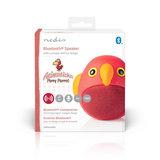 Animaticks Bluetooth Speaker   3 Uur Speeltijd   Handsfree bellen   Perry Parrot_