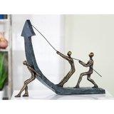 Sculptuur stijgende lijn_