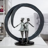 Sculptuur beste vriendinnen_