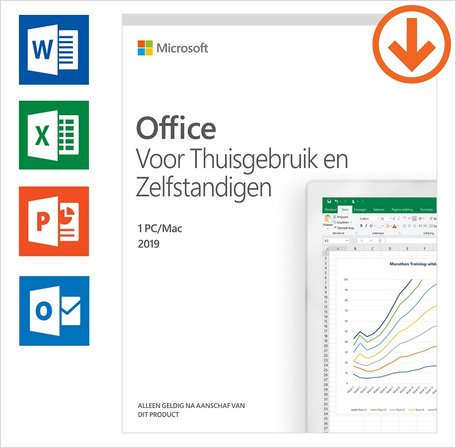 Microsoft Office Home&Business 2019 Multilanguage