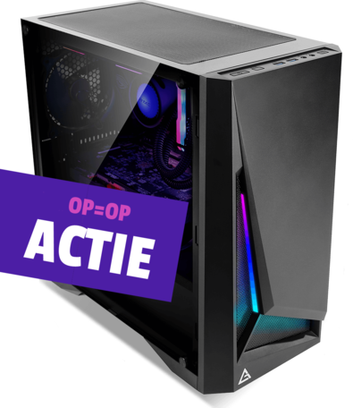 Game-PC AMD Ryzen 5 2600 16GB 1TB GTX1660 6GB