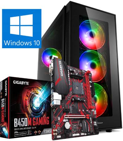 Game-PC AMD Ryzen 5 3600X 32GB 1TB SSD RTX2060 Super 8GB Win10