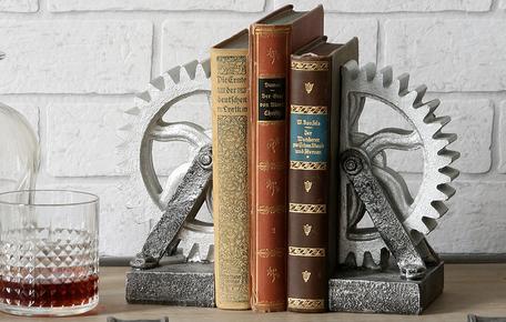 Set van 2 boekensteunen
