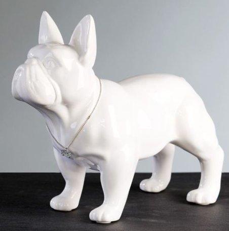 decoratie bulldog 29cm hoog