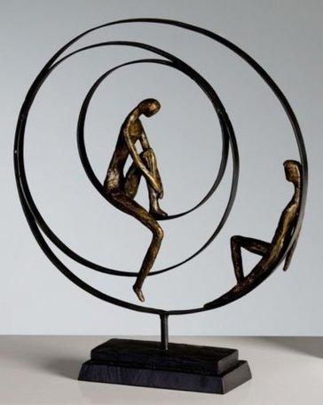 Sculptuur cirkel