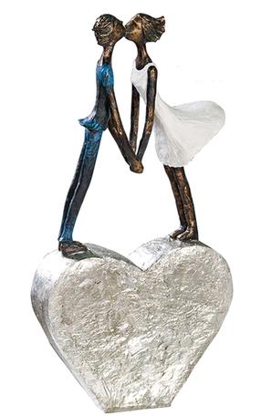 Beeldje - sculptuur 'Liefde' 35cm hoog