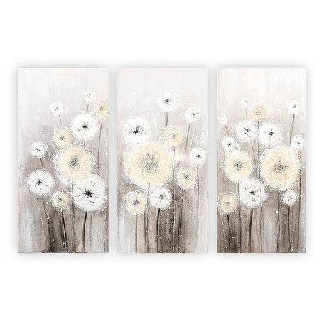 canvas dandelion