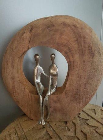 Sculptuur paar
