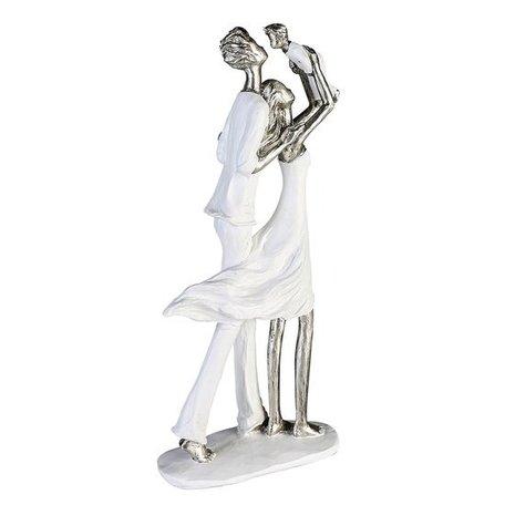 sculptuur familie geluk