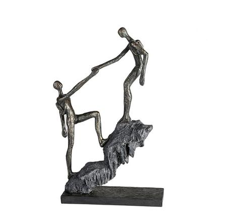 sculptuur aankomst