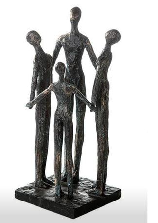 Sculptuur groep