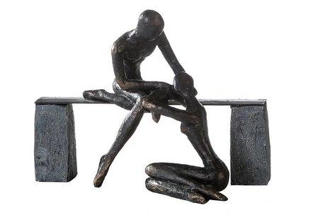 Sculptuur vriendschap