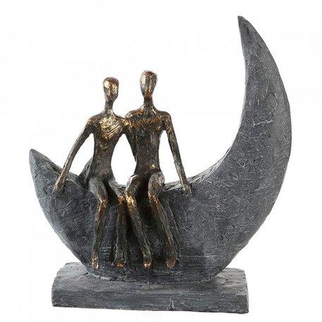 sculptuur maan