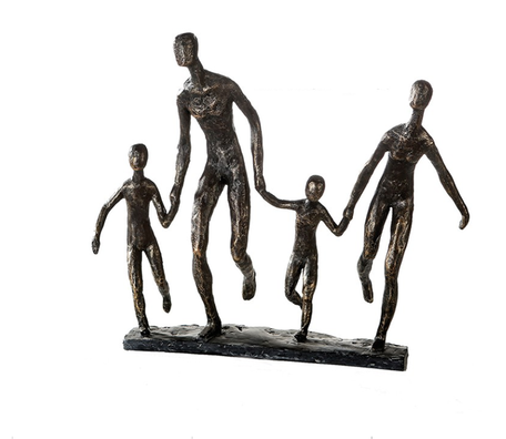 Sculptuur 'gezin