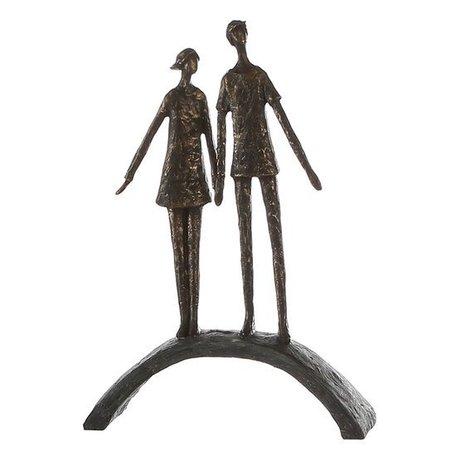 Sculptuur hand in hand