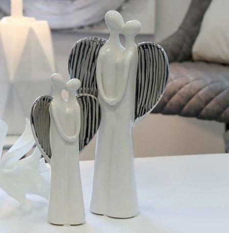 sculptuur engel 2 stuks