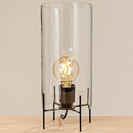 Tafellamp 34cm hoog glas