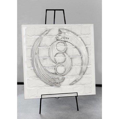 canvas schilderij ying yang