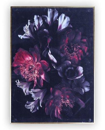 Canvas schilderij  gekleurde bloemen