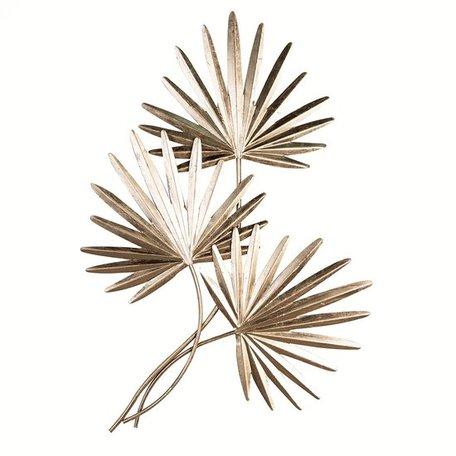 WANDDECORATIE palm bladeren