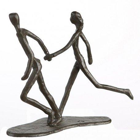 Sculptuur rennen