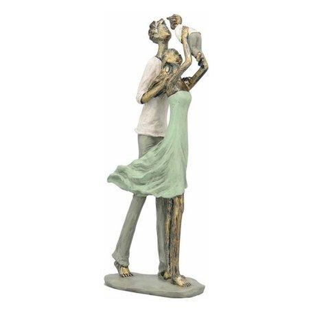 Sculptuur Familie groen