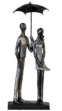 sculptuur regenachtig