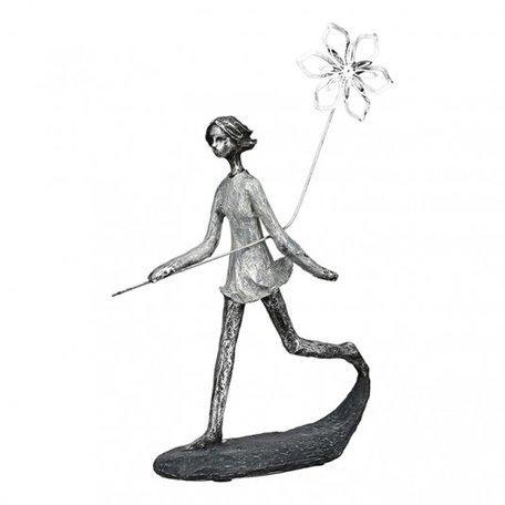 sculptuur meisje