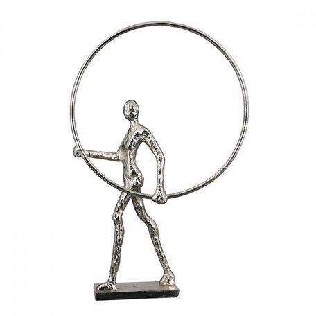 sculptuur  ring zilver