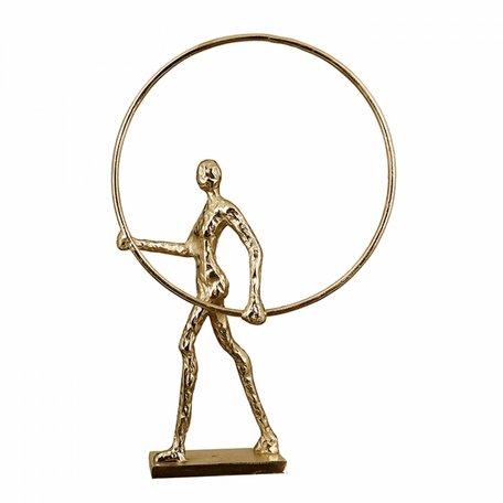 sculptuur  ring goud