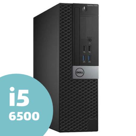Dell SFF Core i5 6500 4GB 120GB SSD DVDRW Win10 desktop