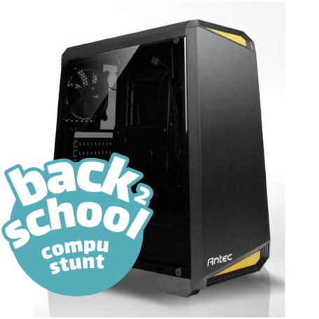 Back2School PC AMD Ryzen5 3600X 16GB 1TB SSD GTX1660 6GB