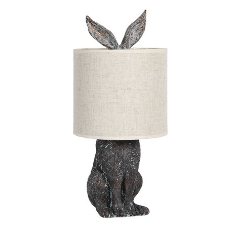 Tafellamp konijn met kap