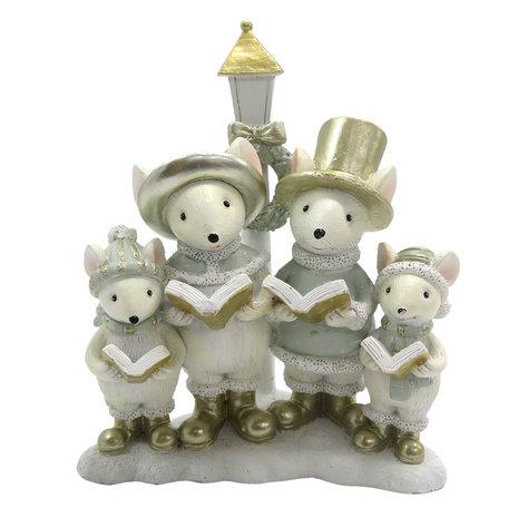 Decoratie muizen familie