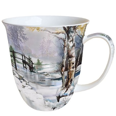 Beker porselein 0.4 L It's Wintertime