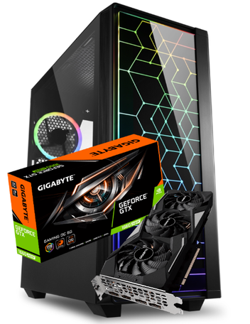 Game-PC NEXT Core i7 10700K 16GB 1TB SSD GTX1660 6GB DDR6 Super Gaming