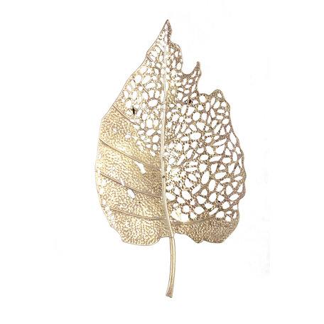 PTMD Yana Gold wanddecoratie metaal 86.5cm