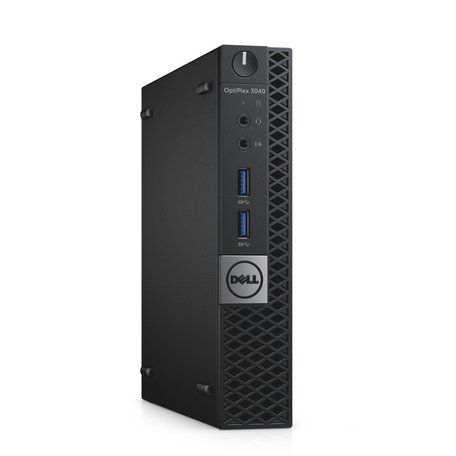 Dell SFF Core i3 6100T 4GB 500GB Win10 Pro desktop, ultra klein