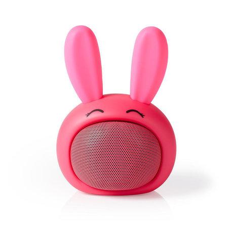 Animaticks Bluetooth Speaker | 3 uur speeltijd | Handsfree bellen | Robby Rabbit