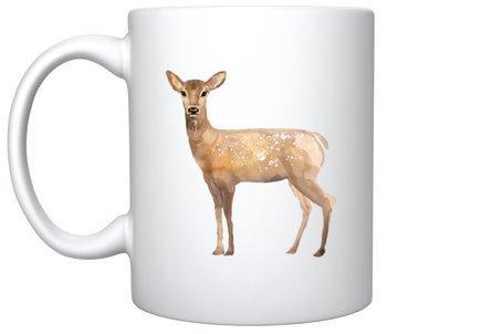 Mok- beker ree en hert