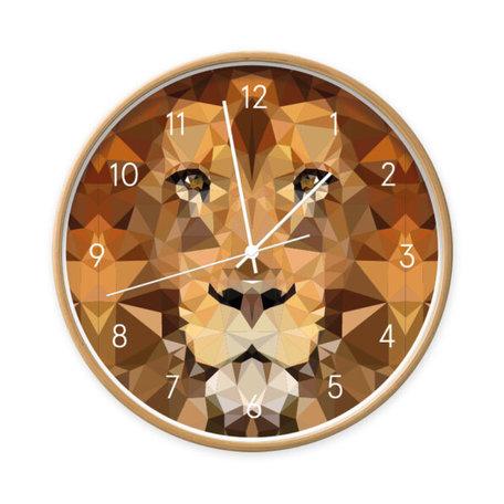 Klok Leeuw geometrisch