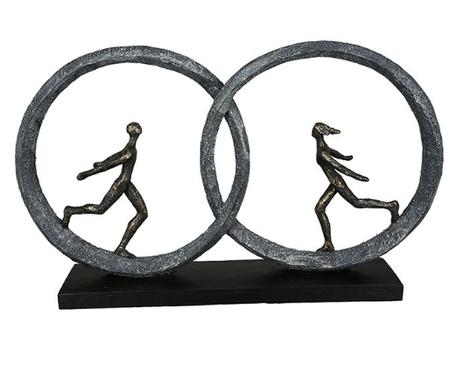 Sculptuur 'Liefde overwint elke afstand'
