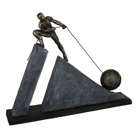 Sculptuur 'zware kracht'