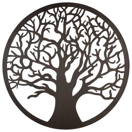 Wanddecoratie boom rond