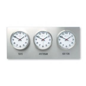 NeXtime 2600 Wall plate (excl. clocks) [25x57, Metal]